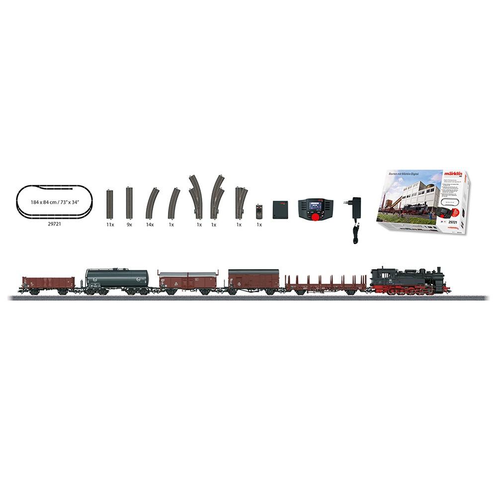 """Märklin Digital-Startpackung """"Güterverkehr der Epoche III""""."""