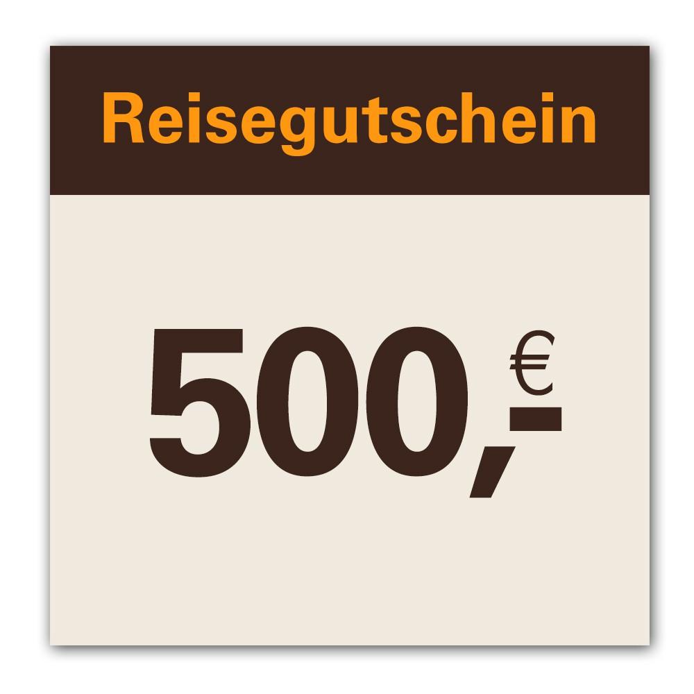 Reisegutschein Euro 500,00