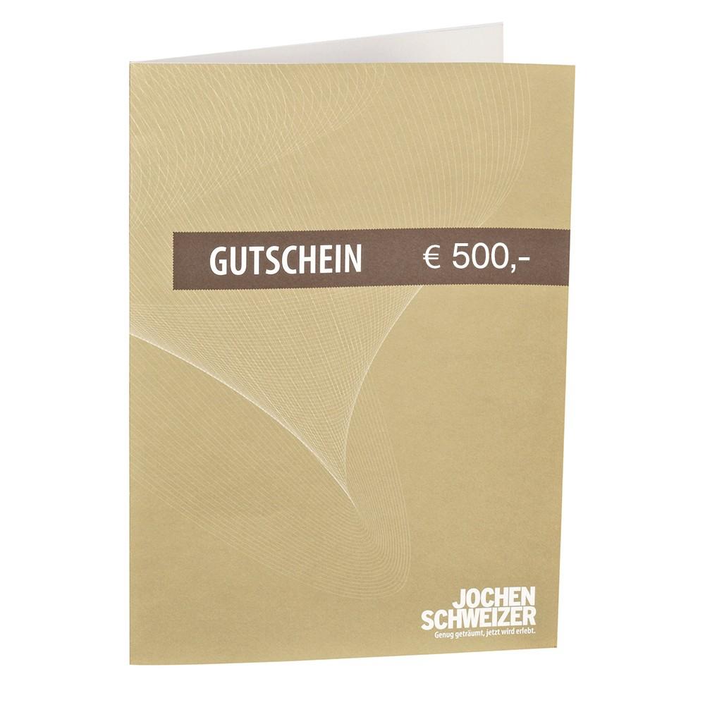 Jochen Schweizer Gutschein € 500,-