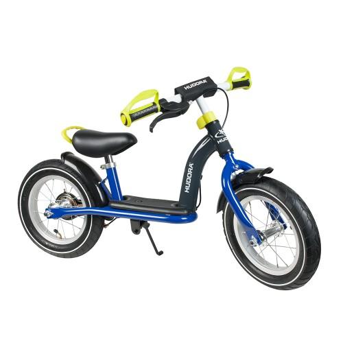 "Hudora Laufrad Cruiser Boy Alu, 12"", blau/lemon"