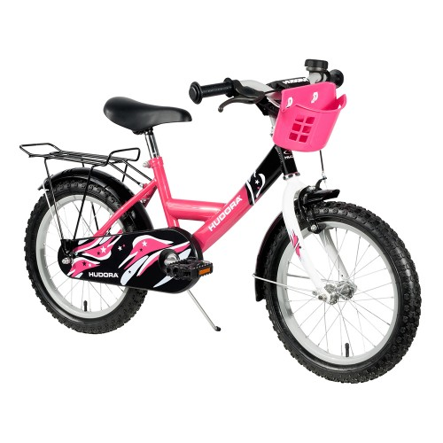 "Hudora Kinderfahrrad, 16"", pink"