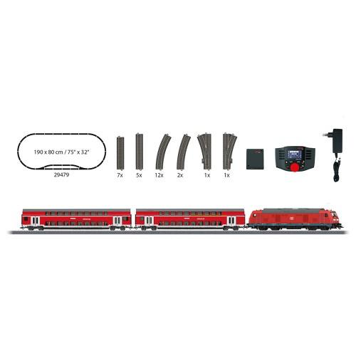 """Märklin - Digital-Startpackung """"Regional-Express""""  230 Volt"""