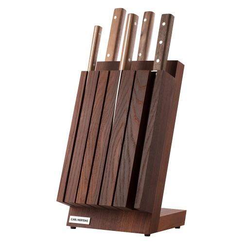 Carl Mertens METZ FINN Magnet Messerblock Set 5-teilig