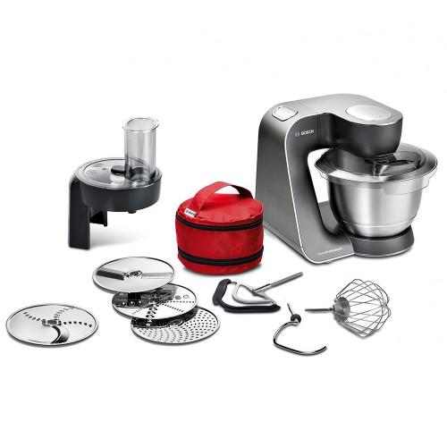 Bosch Universal Küchenmaschine Schwarz / Edelstahl