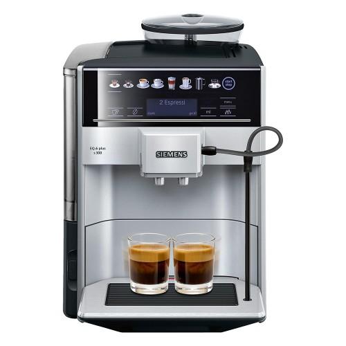 Siemens Kaffeevollautomat Silber