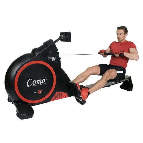 Christopeit Ruderzugmaschine Ergometer Como Black Edition