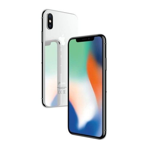 Apple iPhone X 64 GB, silber
