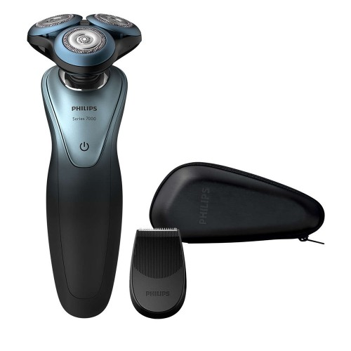 Philips Shaving Series 7000 Rasierer Anthrazit/Türkis