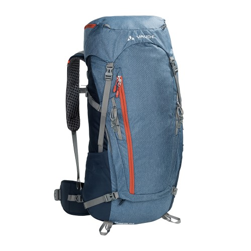 Vaude Trekkingrucksack Asymmetric 42+8, Fjord blue