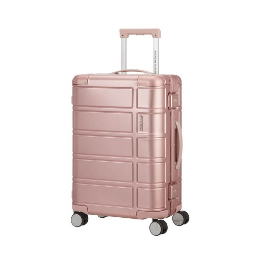 American Tourister ALUMO mit 4 Rollen 55cm, rosa