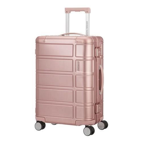 American Tourister ALUMO mit 4 Rollen 67cm, rosa