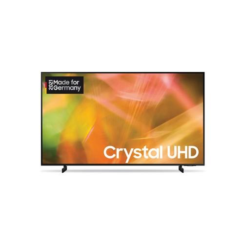 Samsung GU55AU8079UXZG schwarz LED TV (55 Zoll /138 cm), Crystal UHD 4K, Smart TV, Sprachsteuerung (Bixby, Alexa, Hey Google)