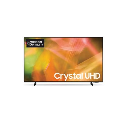 Samsung GU50AU8079UXZG schwarz LED TV (50 Zoll /125 cm), Crystal UHD 4K, Smart TV, Sprachsteuerung (Bixby, Alexa, Hey Google)