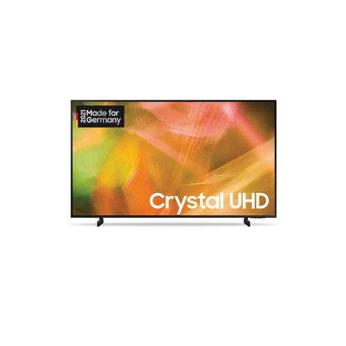 Samsung GU43AU8079UXZG schwarz LED TV (43 Zoll /108 cm), Crystal UHD 4K, Smart TV, Sprachsteuerung (Bixby, Alexa, Hey Google)